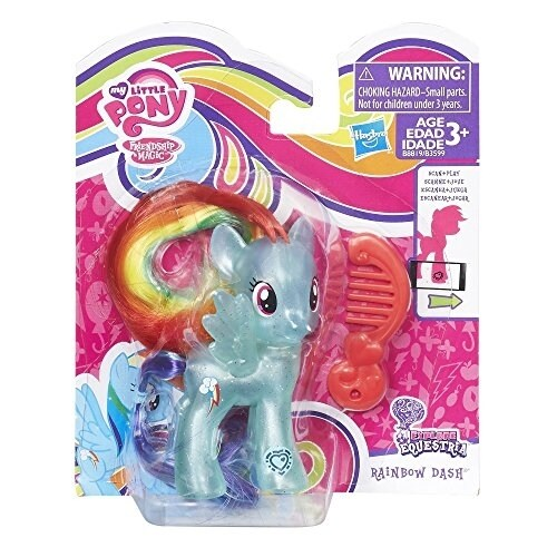 My Little Pony Rainbow Dash Doll Perspective: back