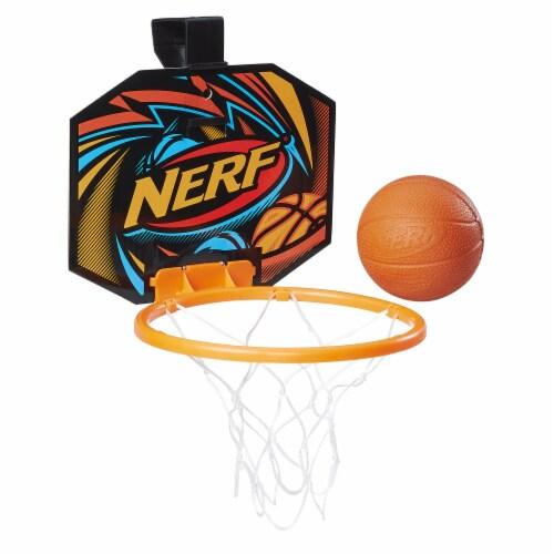 Nerf Sports Nerfoop Jump Shot Mini Basketball Set Perspective: back