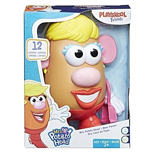 Playskool Mrs. Potato Head Playset Perspective: back