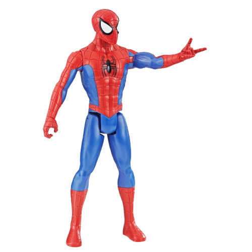 Hasbro Spider-Man Titan Hero Series Spider-Man Action Figure Perspective: back
