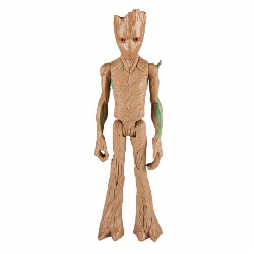 Hasbro Marvel Infinity War Titan Hero Series Groot with Titan Hero Power FX Port Perspective: back