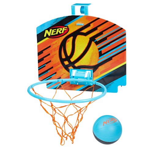 Nerf Sports Nerfoop - Blue Perspective: back