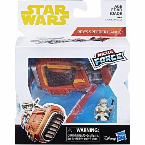 Hasbro Disney Star Wars Rey's Speeder Perspective: back