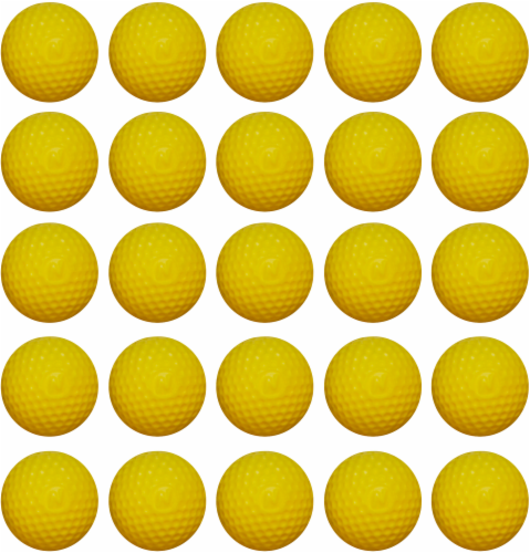 Nerf Rival Round Refill Pack - Yellow Perspective: back