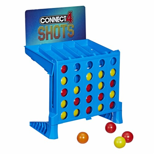 Hasbro Connect 4 Shots Game Perspective: back