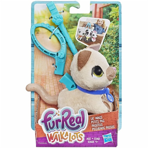 Hasbro FurReal Walkalongs Lil' Wags Perspective: back