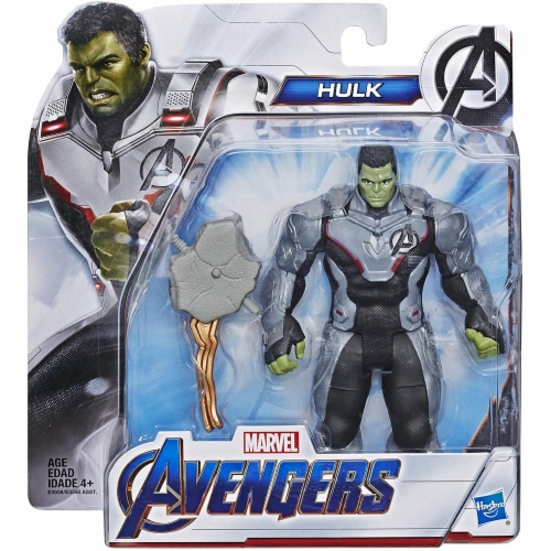 Marvel Avengers Super Hero Action Figure Toy - Team Suit Hulk Perspective: back