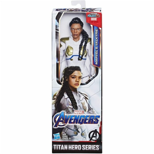 Marvel Avengers Endgame Titan Hero Series Marvel's Valkyrie Figure Perspective: back