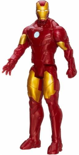 Hasbro Marvel Avengers: Endgame Titan Hero Series Iron Man Action Figure Perspective: back