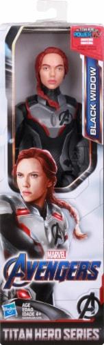 Marvel Avengers: Endgame Titan Hero Series Black Widow Action Figure Perspective: back