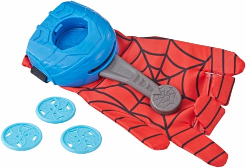Hasbro Spider-Man FX Web Launcher Glove - Red/Blue Perspective: back