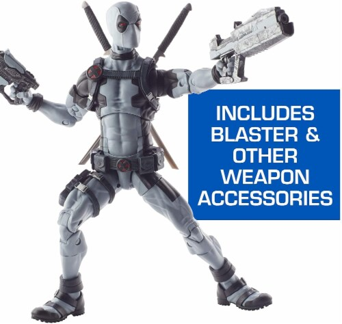 Marvel Legends Premium 12 Inch Deadpool X-Force Action Figure Perspective: back