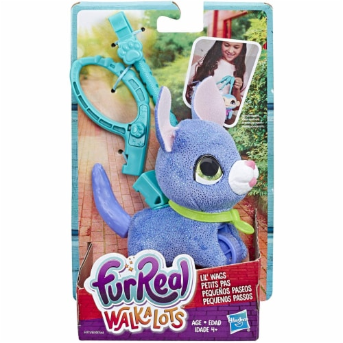 FurReal Walkalots Lil' Wags Puppy Toy, Ages 4 & Up Perspective: back