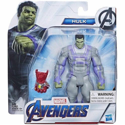 Marvel Avengers Endgame Action Figure Toy - Hulk Perspective: back