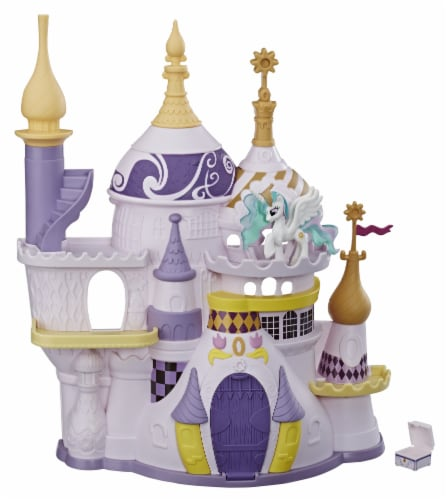 Hasbro My Little Pony Princess Celestia Canterlot Castle Playset Perspective: back