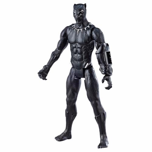 Hasbro Avengers Titan Hero Series Black Panther Action Figure Perspective: back