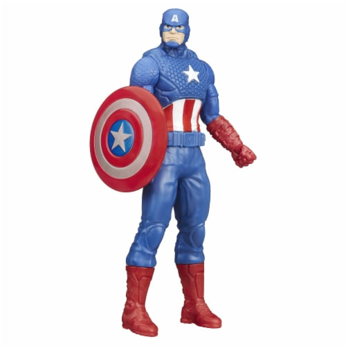 Hasbro Marvel Captain America Figure Perspective: back