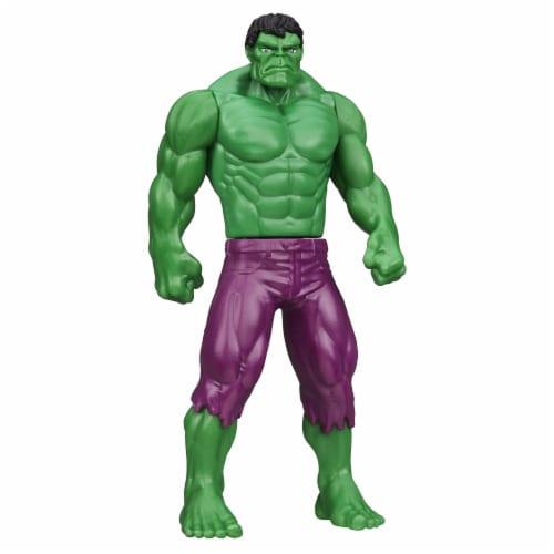 Hasbro Marvel Basic Hulk Figure Perspective: back