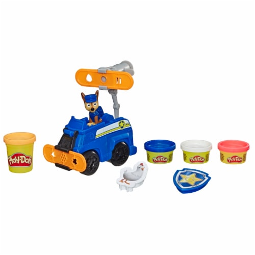 Play-Doh Paw Patrol Rescue Rolling Chase Play Set Perspective: back
