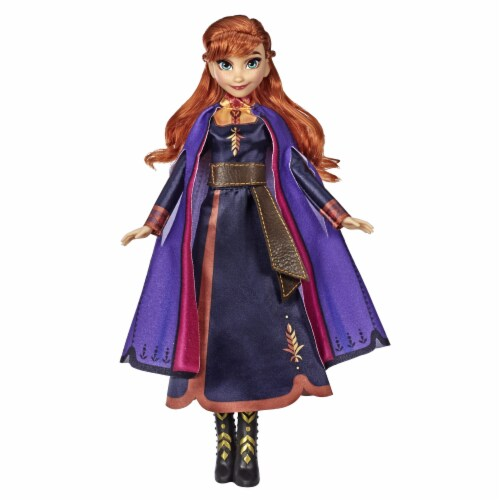 Hasbro Frozen 2 Singing Anna Doll Perspective: back