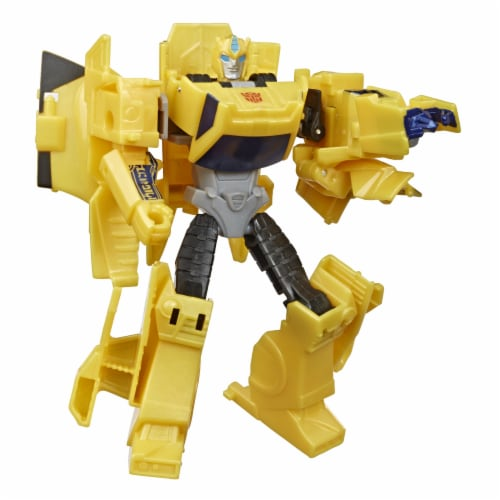 Transformers Bumblebee Cyberverse Adventures Sting Shot Action Figure Toy Perspective: back