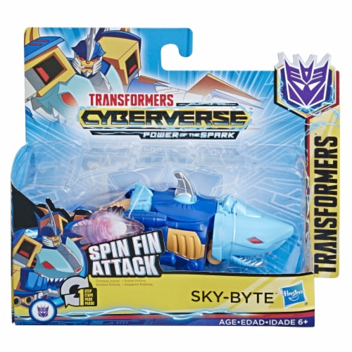 Hasbro Transformers Cyberverse 1-Step Changer - Assorted Perspective: back