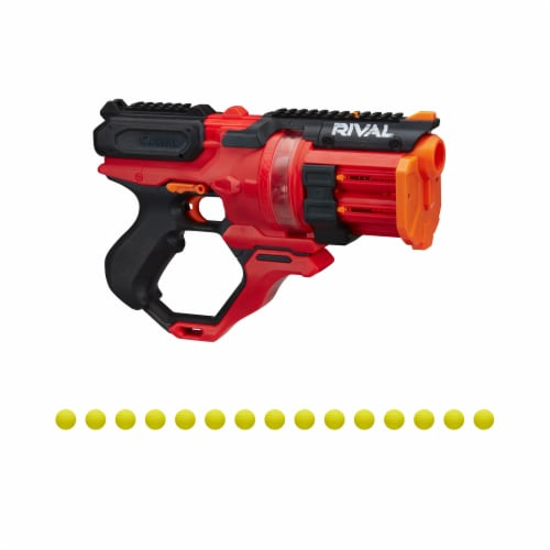 Nerf Rival Roundhouse XX-1500 Rotating Chamber Blaster - Red Perspective: back