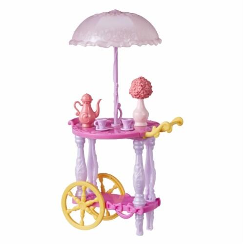 Hasbro Disney Princess Tea Cart Playset Perspective: back