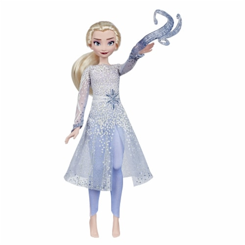 Hasbro Disney Frozen 2 Magical Discovery Elsa Doll Perspective: back
