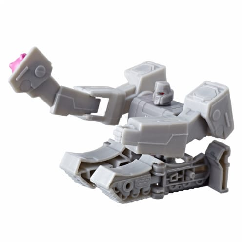 Transformers Cyberverse Scout Class Megatron Action Figure Perspective: back
