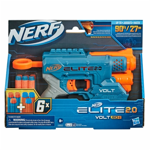 Nerf Elite 2.0 Volt SD-1 Blaster Perspective: back