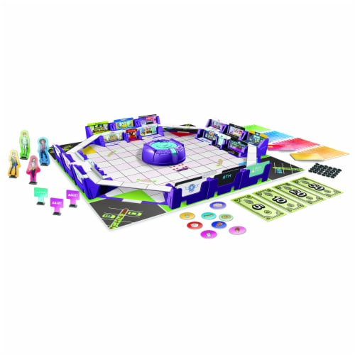 Hasbro Gaming Mall Madness Board Game Perspective: back