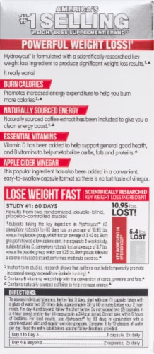Hydroxycut® Pro Clinical Lose Weight Rapid-Release Capsules Perspective: back