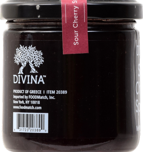 Divina Sour Cherry Spread Perspective: back