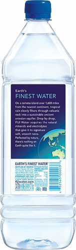 FIJI® Natural Artesian Water Perspective: back