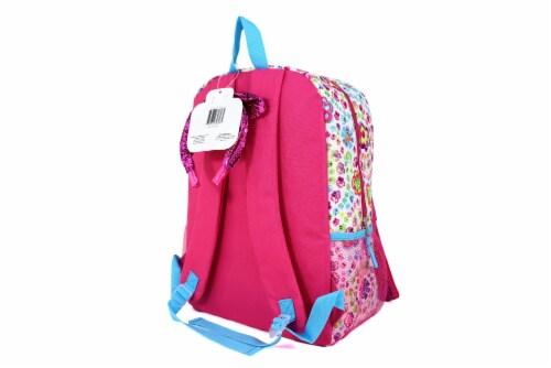 Cudlie Backpack & Headband Set - Floral Explosion Perspective: back