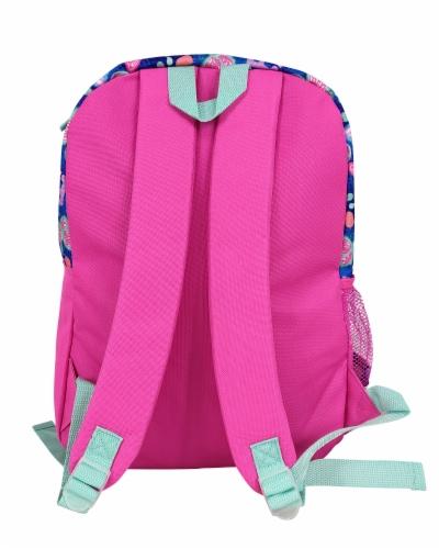 Cudlie Super Pack Rainbow Animal Print Backpack Perspective: back