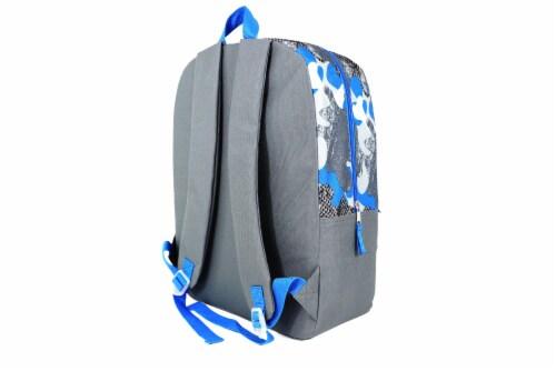 Cudlie Backpack Set - Camo Grunge Perspective: back