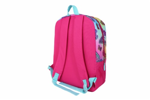 Cudlie Backpack Set - Rainbow Butterfly Perspective: back