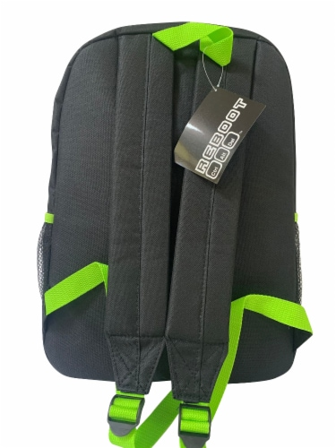 Cudlie Backpack - Green Camo Perspective: back