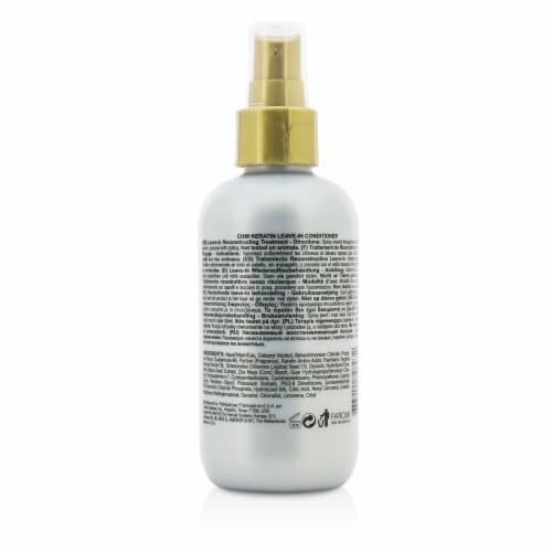 Keratin Leave-In Conditioner by CHI for Unisex - 6 oz Conditioner Perspective: back