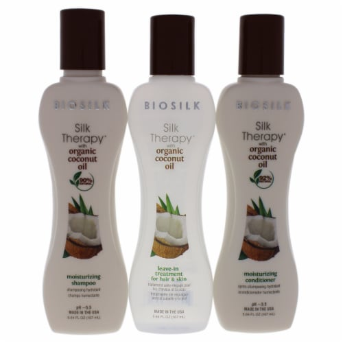 Silk Therapy With Organic Coconut Intense Moisture Kit Perspective: back