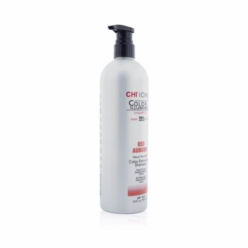 CHI Ionic Color Illuminate - Red Auburn Shampoo for Unisex - 25 oz Shampoo Perspective: back