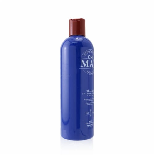 """""""""""CHI Man The One 3in1 Shampoo, Conditioner & Body Wash 355ml/12oz"""""""" Perspective: back"""