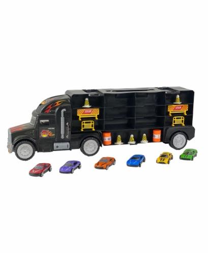 Big Daddy Big Rig 6 Car Carrier Perspective: back