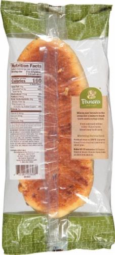 Panera Bread Asiago Cheese Bread Perspective: back