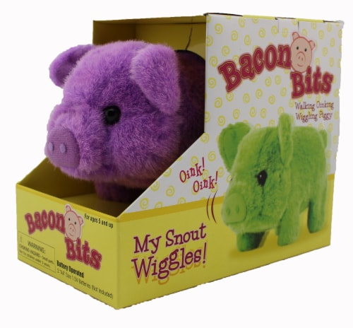 Bacon Bits Mechanical Pig - Purple Perspective: back