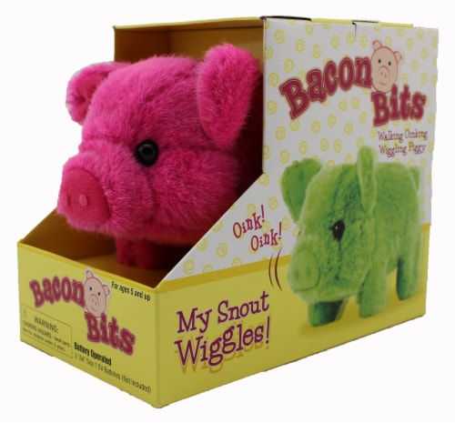 Bacon Bits Mechanical Pig - Pink Perspective: back