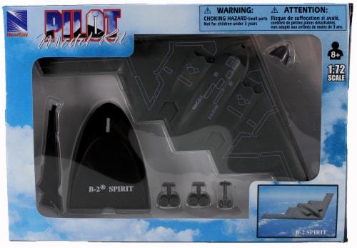 Snap Together Model B-2 Spirit Jet Fighter Perspective: back