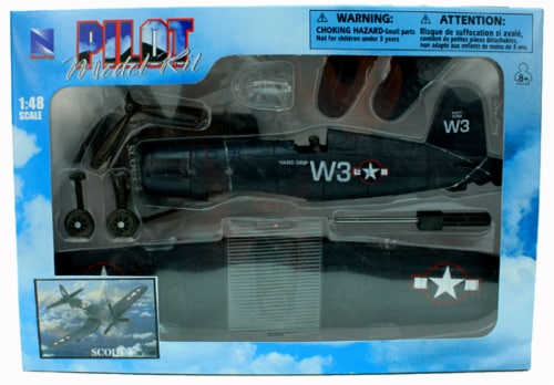 Sky Pilot Classic Plane Model Kit (1:48 Scale), F-4U Scout Perspective: back